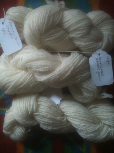 Sock Yarn - Friesian/Border Leicester blend
