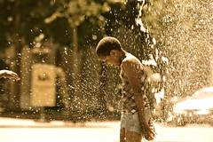bumshower (tati_x) Tags: summer sun wet water girl children fun switzerland berne