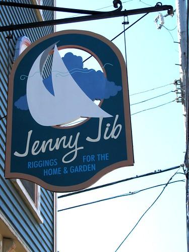 Jenny Jib Lunenburg, Nova Scotia