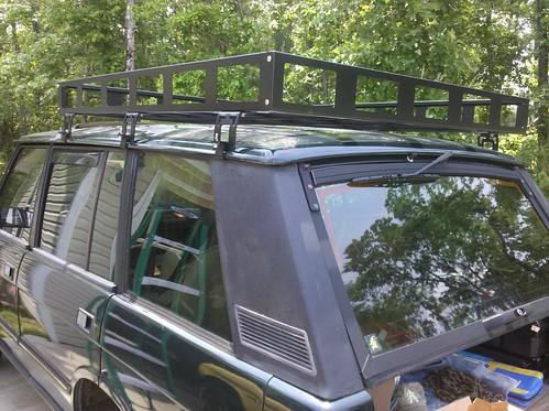 Flickriver: Photoset 'Custom Range Rover Classic Roof Rack