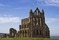 Whitby Abbey (pixiepic's) Tags: sky abbey stone coast seaside ruins worship yorkshire whitby hilltop platinumheartaward canon7d