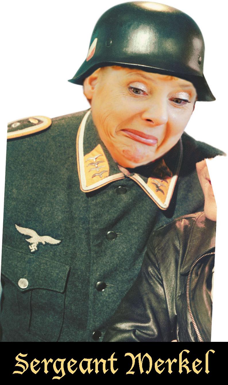 Sergeant Merkel