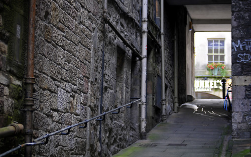 Alleyway In Edinburgh