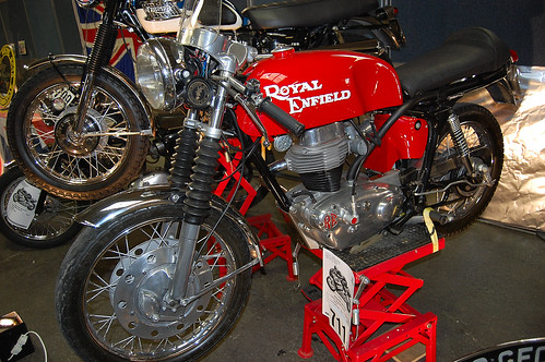 ROYAL ENFIELD GT CONTINENTAL. 250cc FOUR STROKE SINGLE. UK 1965. by ronsaunders47