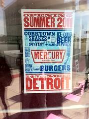 YAY New burger joint (mcsdetroitfriend) Tags: train michigan detroit depot renovation michigancentralstation iphone4