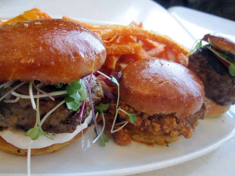 Cat Cora SF - Slider Trio