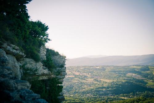 Vue du rocher de Saignon