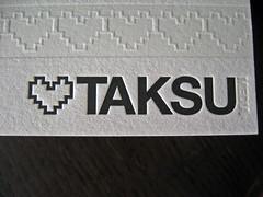 Taksu Media Letterpress Cards