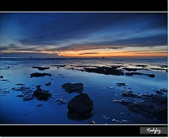 blue mode again~~ (tahfiz) Tags: blue sunset nikon tokina 1224 selangor remis d80