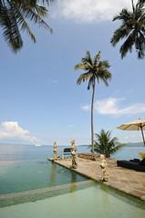 BAL_2302 (Tango [!]) Tags: travel blue vacation bali holiday beach indonesia honeymoon bluesky resort villa coconuttree candidasa beachholiday