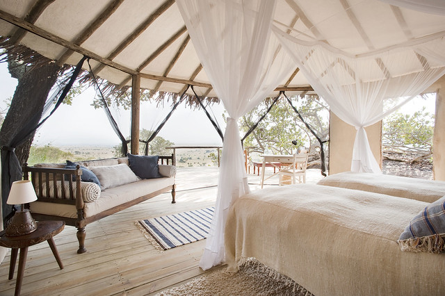 Lamai Serengeti bedroom interior