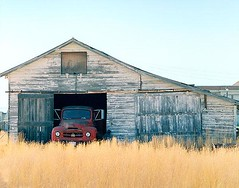 International Harvester (Roadside Gallery) Tags: wood old house building history abandoned barn rural vintage landscape antique farm country rustic barns rusty forgotten worn weathered internationalharvester vintagebuildings roadsidegallery