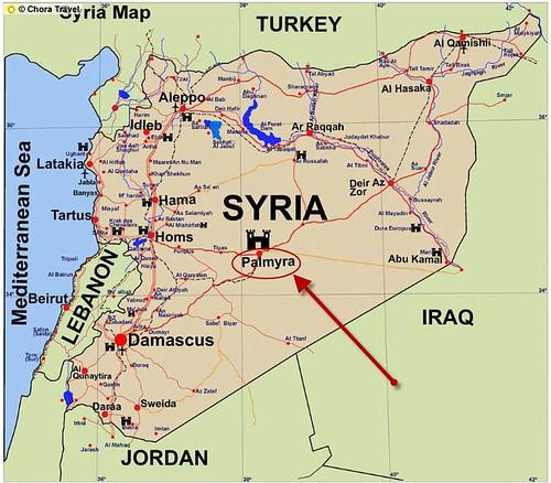 Syria Map(8)