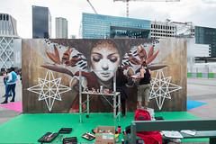 Projet Saato - Underground Effect 2 / Sophie Wilkins (mahtieuc) Tags: artderue arturbain ladfense paris projetsaato sophiewilkins streetart urbanart puteaux ledefrance france fr