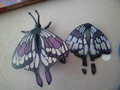 Rpar (Sarmacande) Tags: papillon peinture dcoupage rparation jeux
