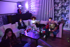 DSC_3810  Sign of the times: Five people all texting at a live social event and NO one speaking to each other (photographer695) Tags: msindos from south africa birthday party october 2 2016 walays club stratford london sign times five people all texting live social event no one speaking each other