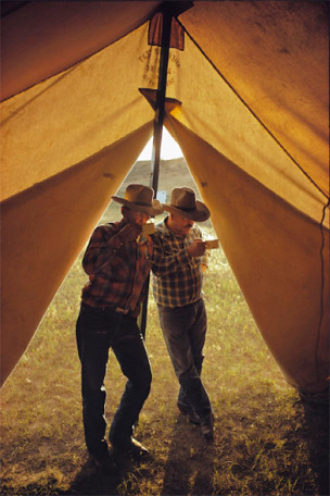 OUT WEST TENT