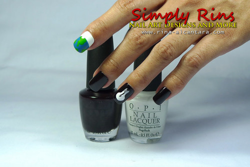 Nail Art Earth Hour 01