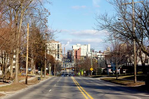 Ann Arbor from Huron