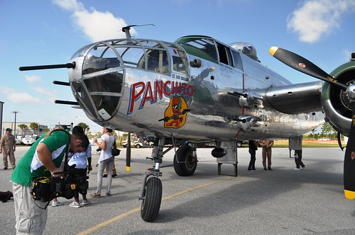 Panchito, B-25 Mitchell Bomber Flown in WWII in Doolittle Raid