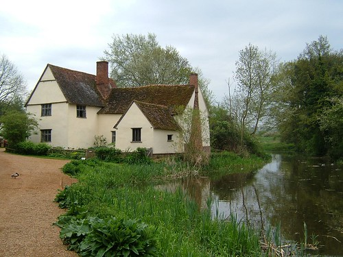 Willy Lott's Cottage as painted in The Hay Wain