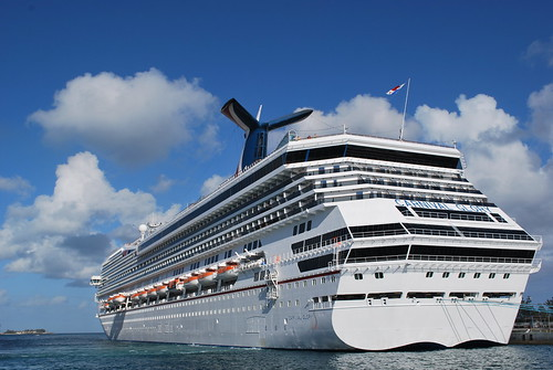 The Glory Docked in Nassau