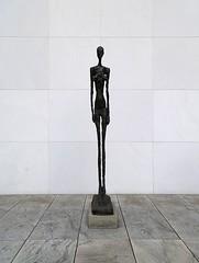 Giacometti (My TVC 15) Tags: newyorkcity sculpture art museumofmodernart marble albertogiacometti panasonicdmcfh22
