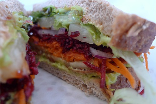 The Australian salad sandwich!