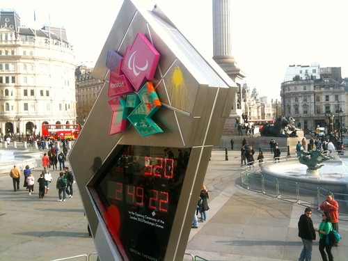 Olympic Clock, Trafalgar Square