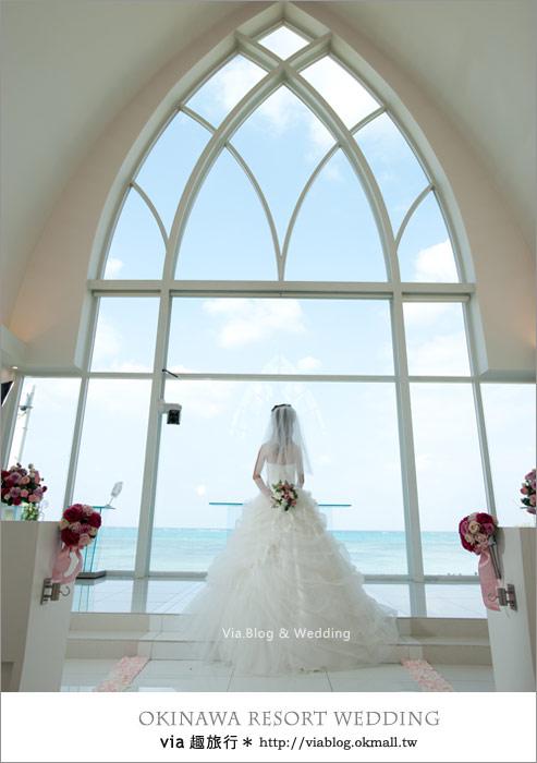 【沖繩旅遊】浪漫至極!Via的沖繩婚紗拍攝體驗全記錄!16