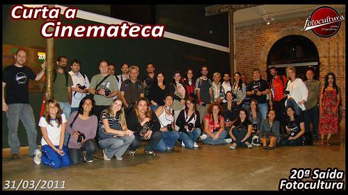 36 fotógrafos no cinema! Saída Fotocultura em 31/03/11