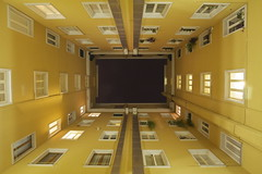 universo domestico (maybemaq) Tags: life windows light sky italy house holiday rome roma tourism window lines yellow night vanishingpoint hostel italia pattern apartment flat hole geometry infinity space 360 midnight repetition spaceship walls bb cosmo universe cosmos recent rectangular infinitive hostal 360degrees microcosm universo microcosmo appartamento caracalla yellowwalls mbius maybemaq colorphotoaward bellitalia universodomestico domesticuniverse