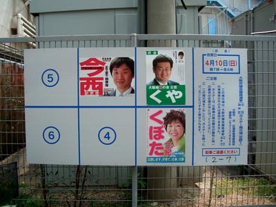 大阪府議会議員選挙