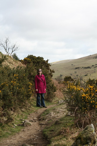 Rachel near Meldon Reservoir