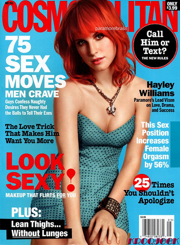 hayley williams paramore cosmo. hayley williams cosmo.