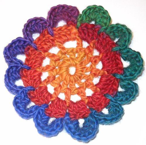 Free Crochet Pattern Japanese Flower : Crochet Attic: Crochet Japanese Flower