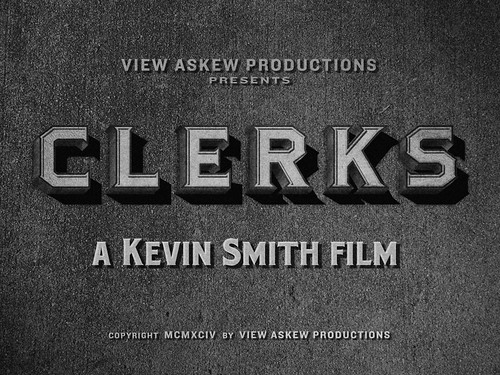 "Movie Titles - ""Clerks"" by metropolismoloch"