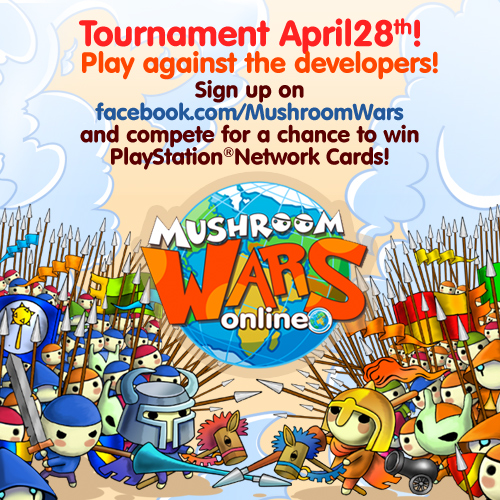 Mushroom Wars tournament