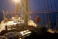 Daphne says hello (Kyre Wood) Tags: thames lady night canon boat 300d sailing vessel historic daphne barge rigging faversham swale friggin riggin