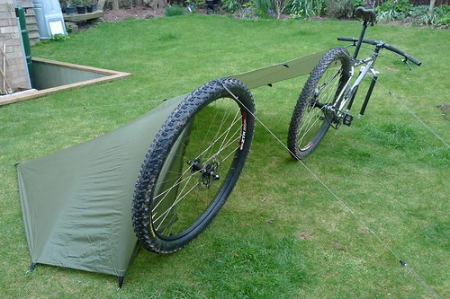 Integral Siltarp & Bike + Tarp (w/ no poles) - Backpacking Light