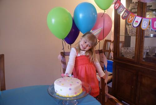 Happy 4th Birthday, Vivianne