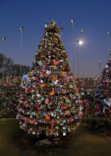 N Seoul Tower's locks