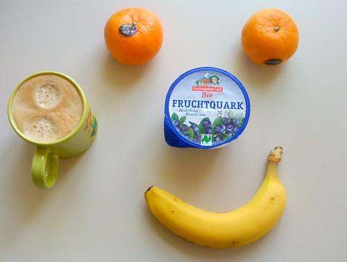 Fruchtquark, Banane & Clementinen