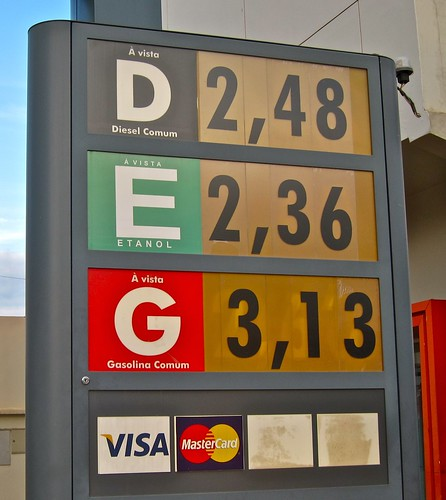 Fuel Prices - Rio Branco Brazil - 10 April 2011