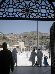 Outside Marwah (Batool Nasir) Tags: travel backstreet editorial saudiarabia allrightsreserved makkah pilgrims kaaba batoolnasir umrahfebruary2011