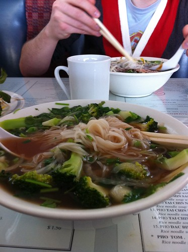 pho, no meat...extra broccoli