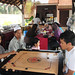 Playing Carom @ Limastiga