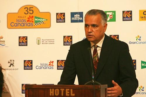 Presentación Rallye Islas Canarias 2011