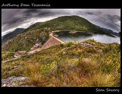 Anthony Dam (Sean Savery Photography) Tags: lake landscape pentax dam australia fisheye tasmania hdr k5 photomatix lakeplimsoll smcpentaxda1017mmf3545ediffisheyezoom topazadjust anthonydam seansaveryphotography