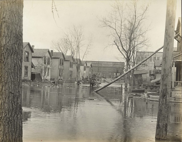 Flood Damage, Dayton, OH - 1913 Flood